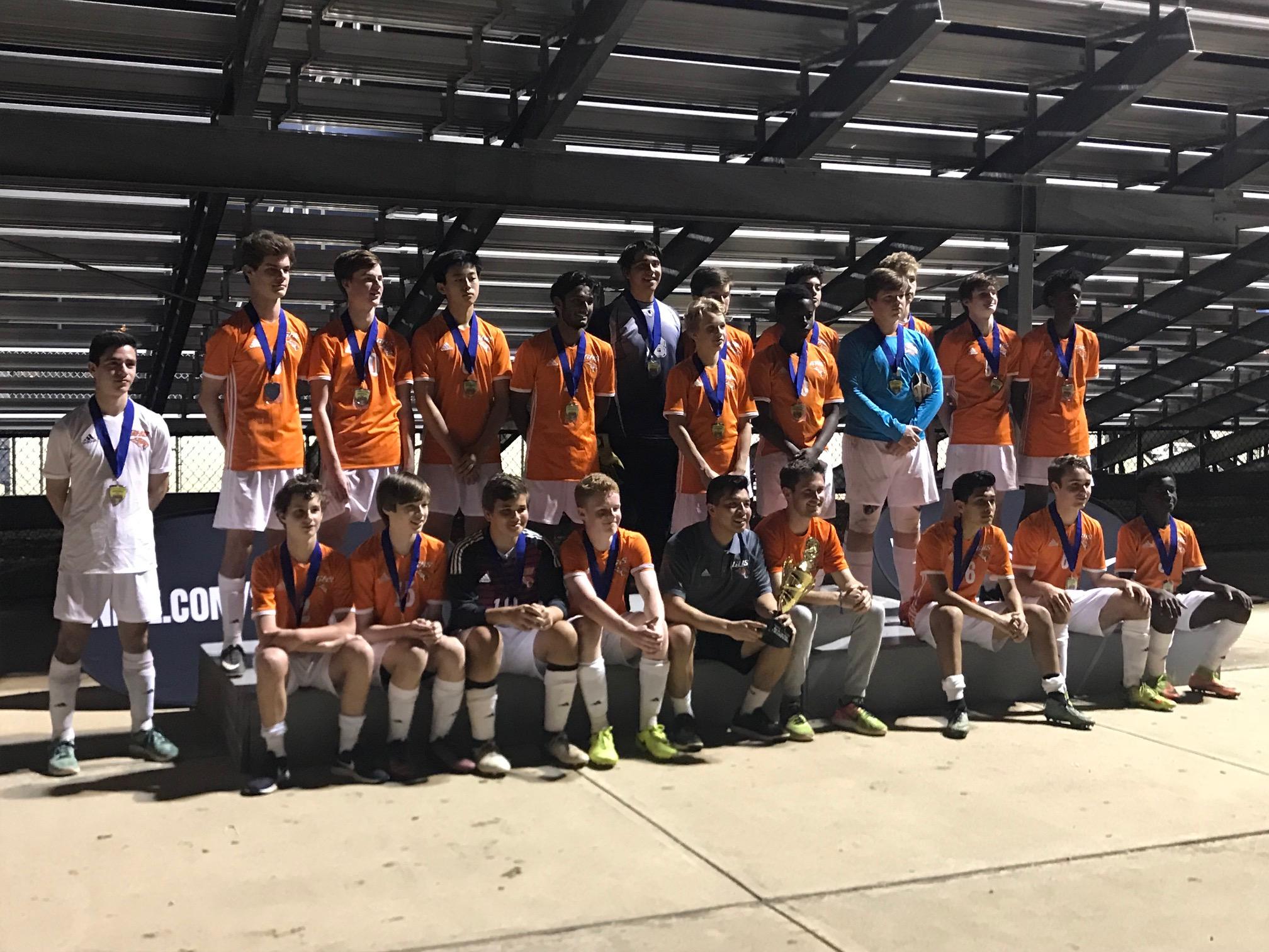 2018 Grissom Boys JV Cup Champions