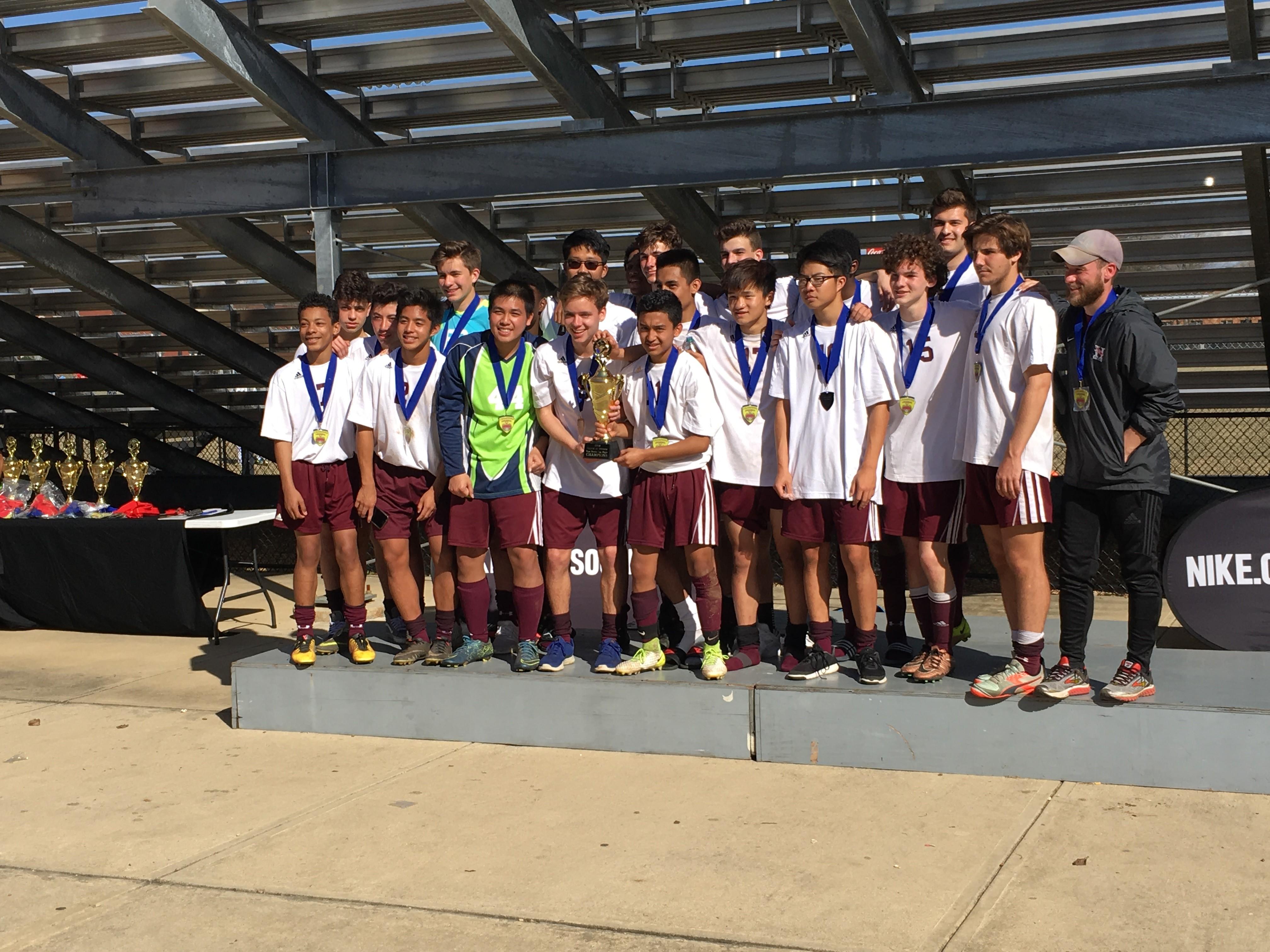 2018 Lamp Boys Varsity Cup Champions