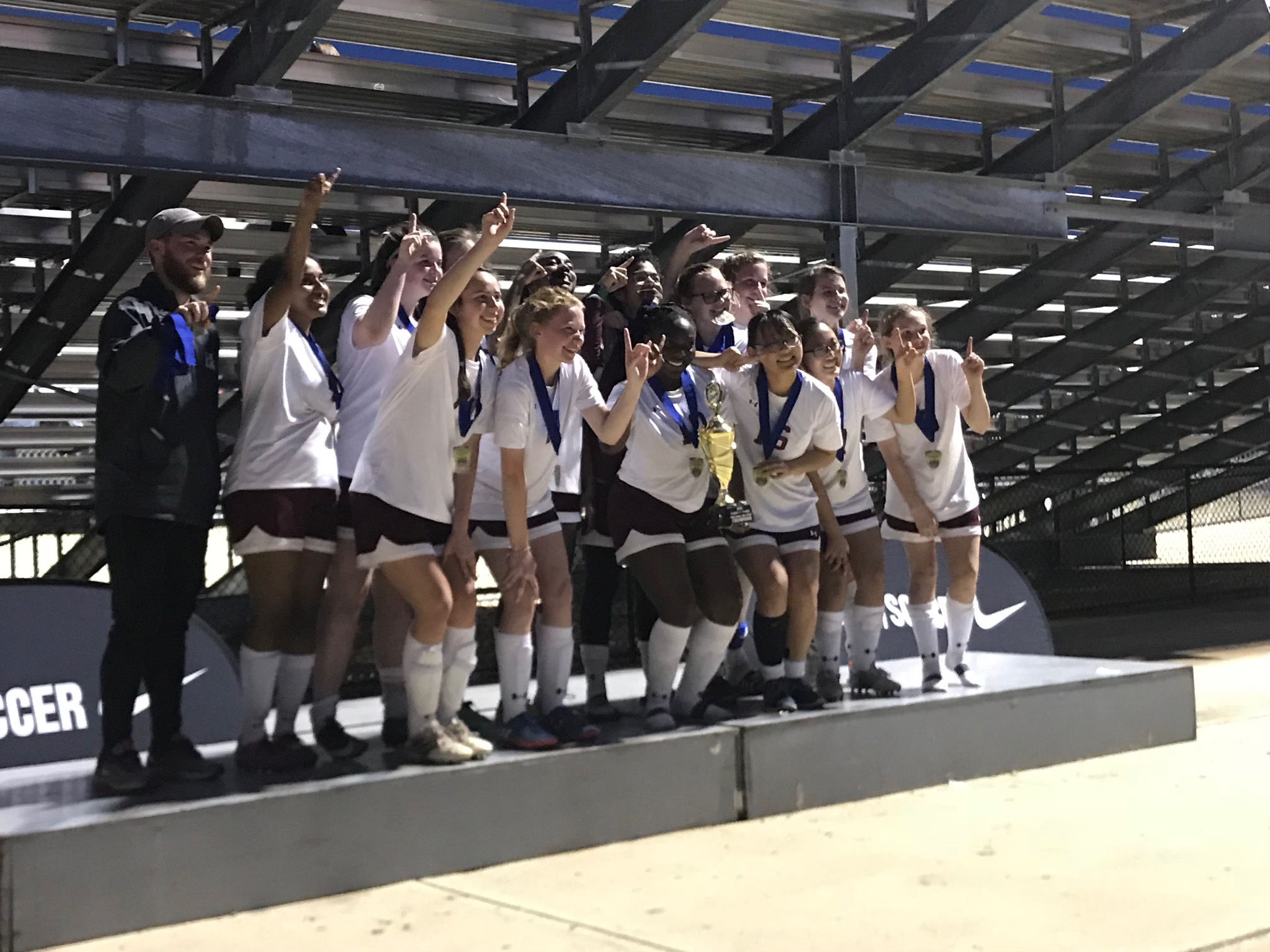 2018 Lamp Girls Varsity Champions Silver Flight