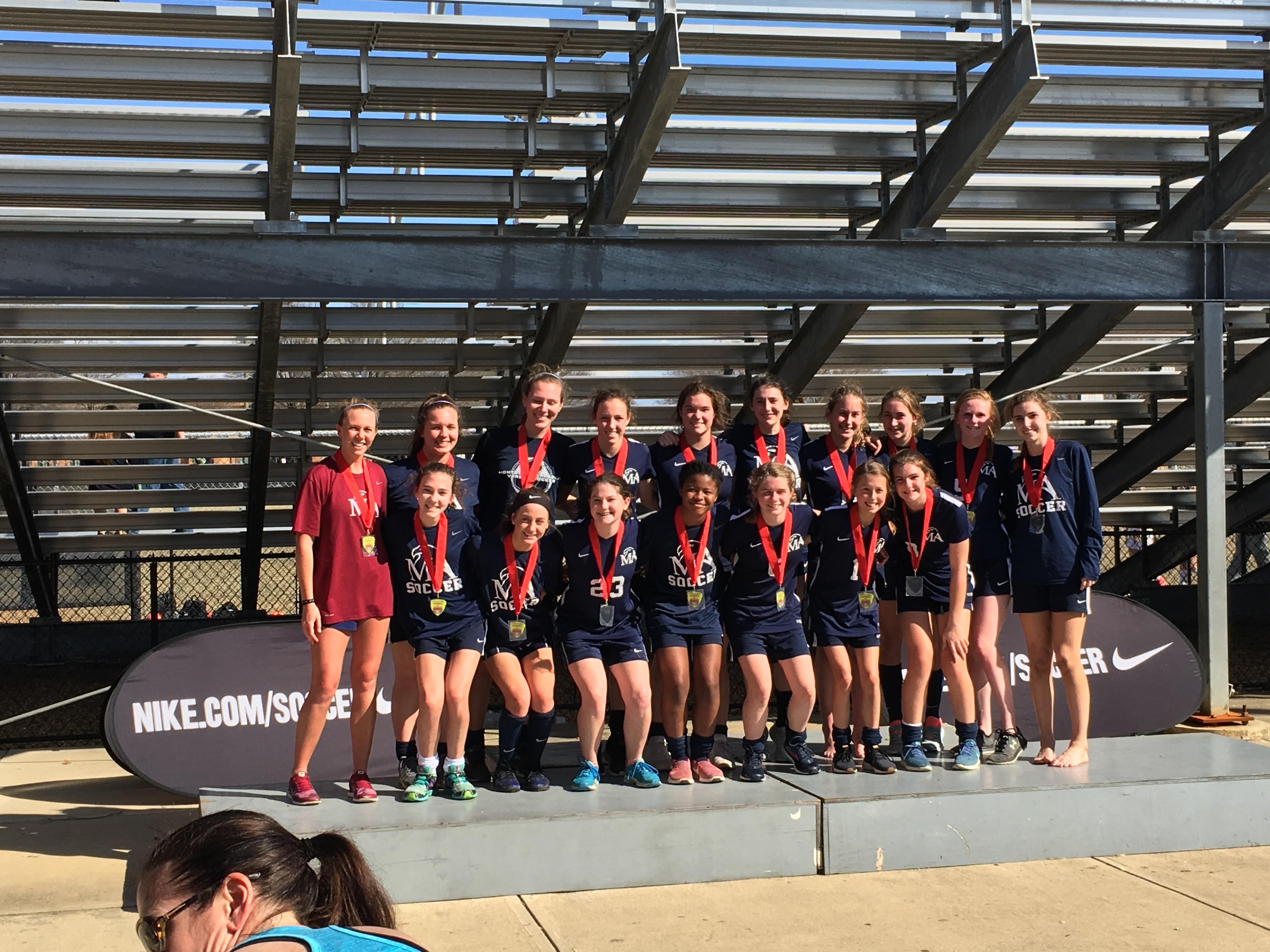 2018 Montgomery Academy Girls Varsity Cup Flight Finalist