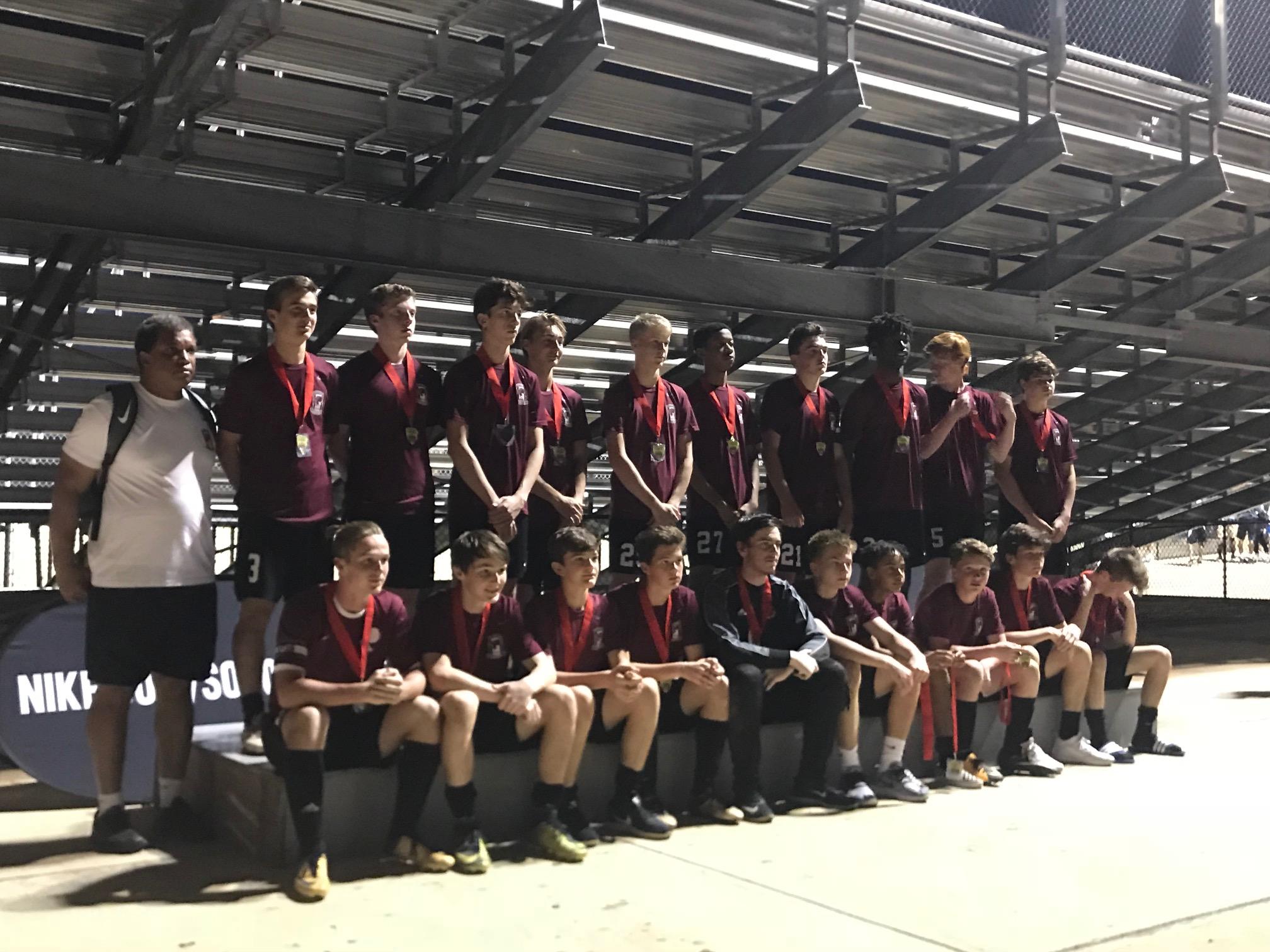 2018 Prattville Boys JV CupFinalist