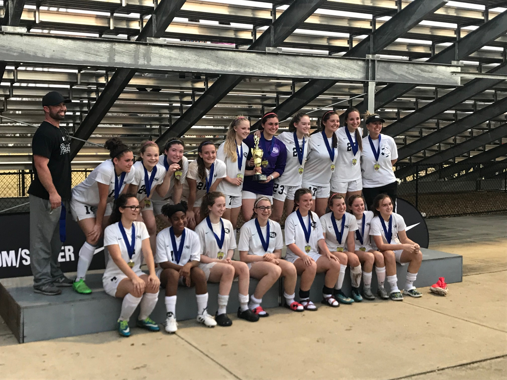 2018 Smiths Station JV Girls Cup Champions